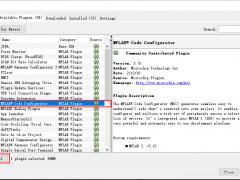 mplab x ide安装mcc(MPLAB代码配置器)