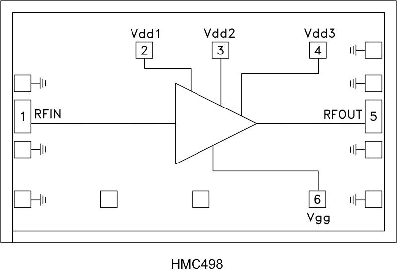 HMC498-Die