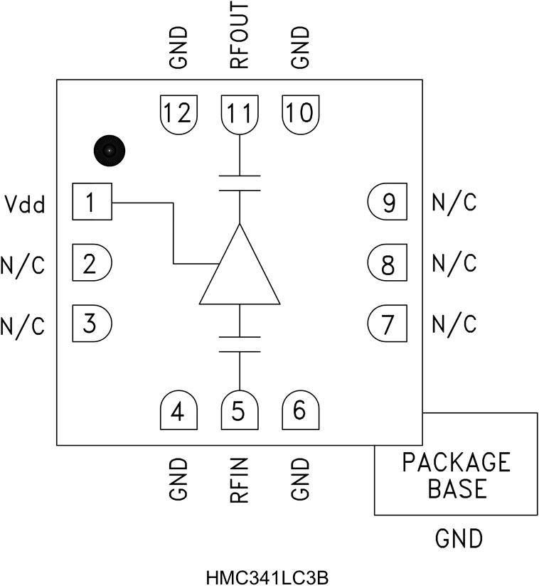 HMC341LC3B