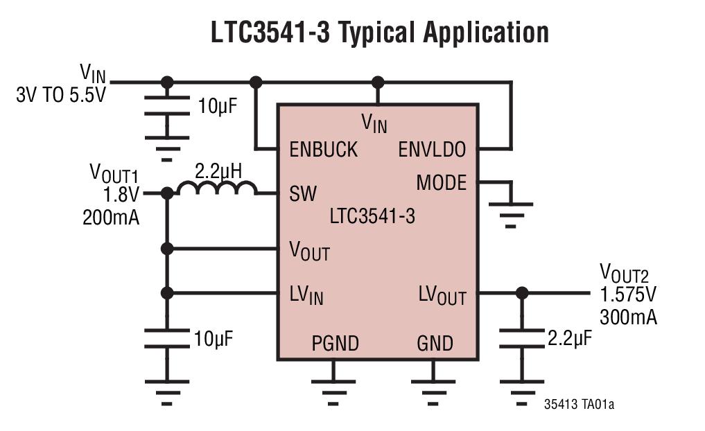 LTC3541-3