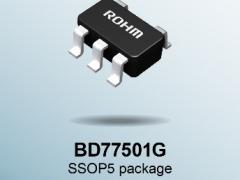 """业界首创!ROHM开发出不会因负载电容发生振荡的高速运算放大器""""BD77501G"""""""