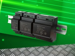 XP Power推出新款价格优惠的DIN导轨安装AC-DC电源