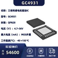 三相无刷电机预驱动器-GC4931