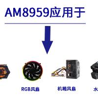三相无传感器风扇电机驱动IC-AM8959