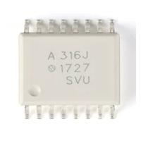 2.5安培门驱动光电耦合器与集器去饱和检测和故障状态反馈