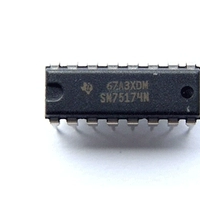 SN75174N。四路差动线路驱动器