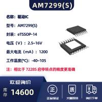 单相外置霍尔无刷驱动芯片-AM7299S