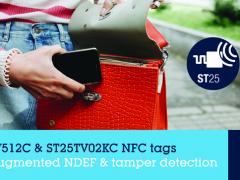 ST推出Type-5标签芯片,加速NFC应用开发创新