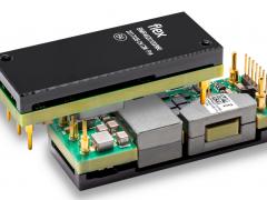 伟创力推出数字1/8砖DC/DC转换器,可提供1100W峰值功率