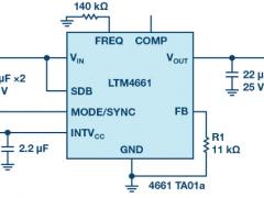 物联网系统需要高集成度和小尺寸功率转换器